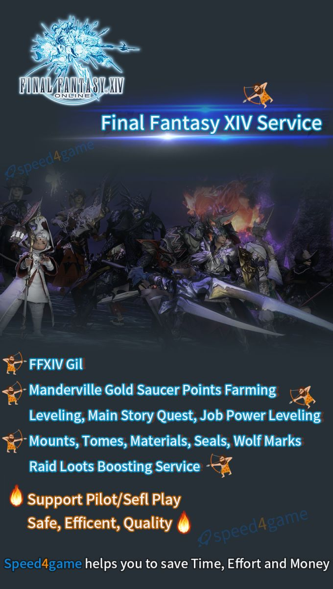 Buy Final Fantasy 14 Power Leveling -  Speed4game