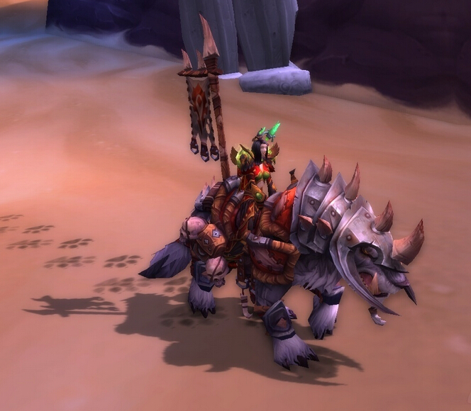 how to get reins of the spectral wolf