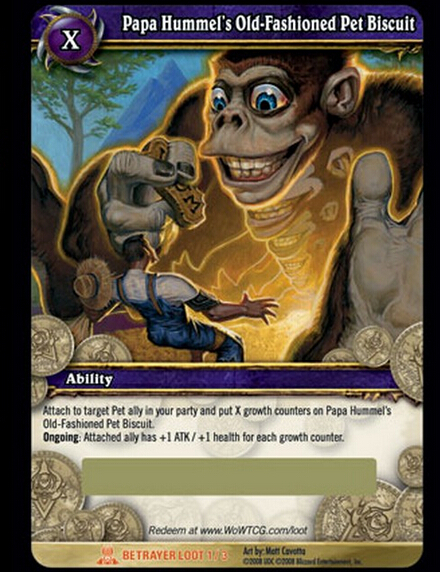 Wow online trading card game