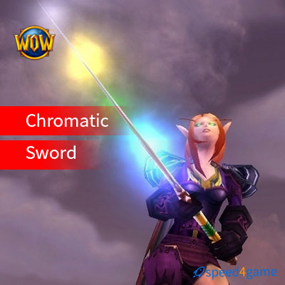 Buy Chromatic Sword, WoW items for sale-speed4game