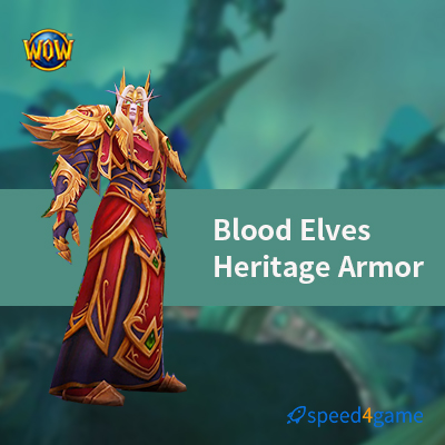 Buy Wow Blood Elf Heritage Armor Power Leveling Speed4game I thought heritage armor could only be mogged onto their respective races. buy wow blood elf heritage armor power