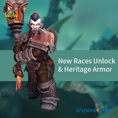 Buy WoW power leveling service, WoW New Races Unlock