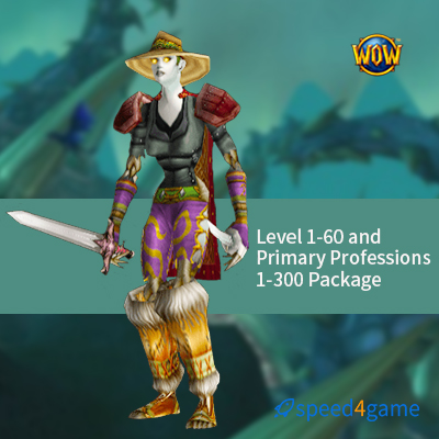 Buy WOW Classic Level Power Leveling Service - Speed4Game